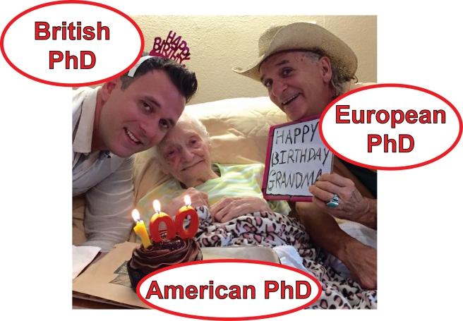 PhD party